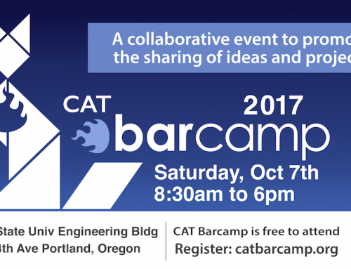 2017 CAT Barcamp – Oct 7