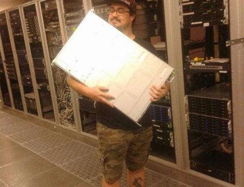Moving a retired server to the CATacombs